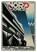 Nord Express by A. M. Cassandre