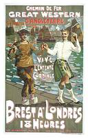 Great Western Railway Brut a Londres by Fraser