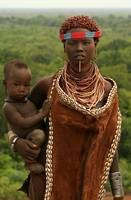 Ethiopian Tribal Mother & Child