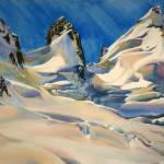 """The Granite Glacier near Pioneer Pass"" by SuzeWoolf"