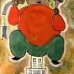 """man sitting"" by RT3D"
