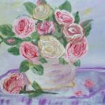 """""""My Shabby Pink Roses"""" by scrapydapy"""