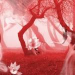 """""""Visions in Red - Self Portrait"""" by jaeda-dewalt"""