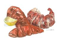 Lobster Tail with Meat
