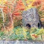 """Stone Iron Furnace-Franconia, NH"" by dominicwhite"