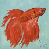 """Siamese Fighting Fish"" by Michael Creese"