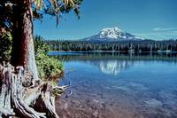 Mt. Adams and Taklakh Lake #s26134 .1.