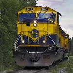 """Alaska Railroad Engine #4013"" by ipsofactophoto"