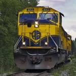 """Alaska Railroad Engine #4013"" by ipsofactophoto"