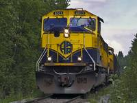 Alaska Railroad Engine #4013