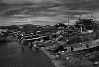 Fishing Village on Lake Illiamna, Alaska