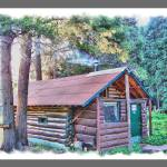 """HDR Elk Camp"" by SHickman"