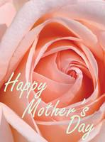 Mother's Day Card Pink 001a Spring Rose