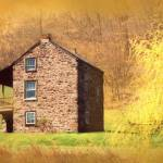 """""""Old House At The Mountain"""" by EMBlairArtwork"""