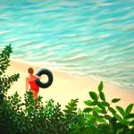 """""""Summer Swim"""" by LizBoston"""