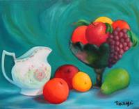 Fruits In Blue