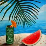 """""""Tiki Time"""" by LizBoston"""