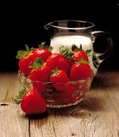 Strawberries and Milk