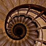 """Spiral Stairs in Arc de Triomphe"" by JerseyShooter"