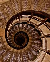Spiral Stairs in Arc de Triomphe
