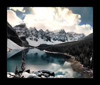 Moraine Lake III (Bordered)