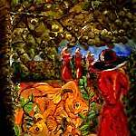 """Koi Garden 2"" by LindaArt"