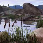 """""""The Old Waterhole"""" by WilliamBostjan"""