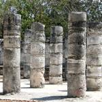 """Chichen Itza Columns"" by blueDonkey"