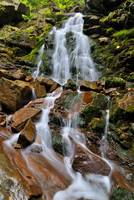 Waterfall in Carpathians