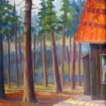 """Dappled Mountain Retreat"" by LauraGable"