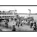 """Ellis Island Ferry"" by gwpics"