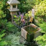"""Japanese Water Fountain"" by fizzyimages"