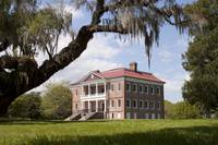 Historic Drayton Hall Plantation House in Charlest