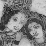 """krishna and radha hardground"" by krauseda"