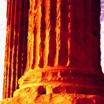 """athens greece pillar"" by eschasgallery"