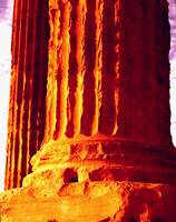 athens greece pillar