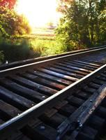 Long Lake Train Tracks