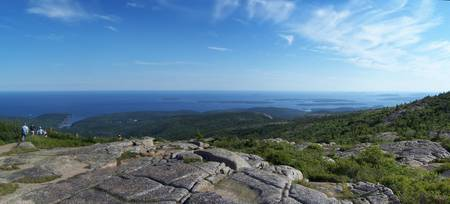 Cadillac Mountain Panoramic