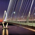 """Arthur Ravenel Jr Bridge"" by breaker"