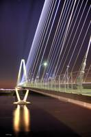 Arthur Ravenel Jr Bridge at Dusk 2