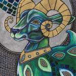 """Icon I: The Ram"" by LynnetteShelley"