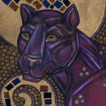 """Icon II: The Panther"" by LynnetteShelley"
