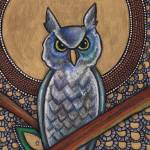 """Icon VI: The Owl"" by LynnetteShelley"