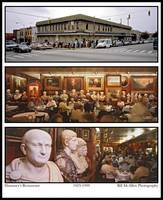 Haussner's Restaurant Baltimore Interior Composite