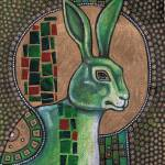 """Icon III: The Rabbit"" by LynnetteShelley"