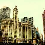"""Wrigley Building, Chicago, IL"" by aleksasha"