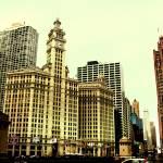"""Wrigley Building, Chicago, IL"" by aleksasha"