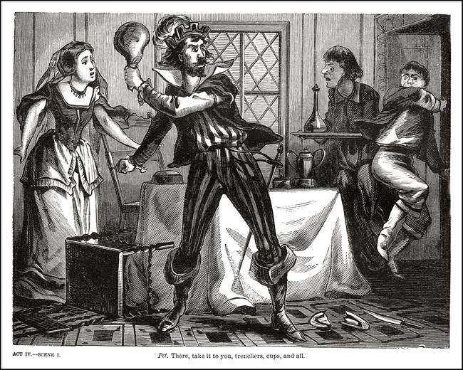 taming of the shrew love essays Explore the different themes within william shakespeare's comedic play, the taming of the shrew themes are central to understanding the taming of the shrew as.