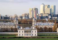 Queens House and London Docklands