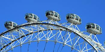 Pods on the London Eye